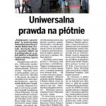 """Uniwersalna prawda na plotnie"" Kurier Klodzki, Nr. 66, Sep-Oct 2012"