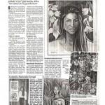 "Kubiak, Katarzyna, ""Malarka trzech panstw,"" Super Express, New York, November 1997."