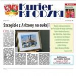 """""""Szczescie z Arizony na aukcji."""" Kurier Klodzki, 3-2012"""