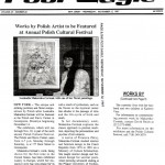 """Works by Polish Artist to be Featured at Annual Polish Cultural Festival,"" The Post Eagle, November 12, 1997."