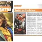 """Chalecka, Ewa, """"Swiat pelen barw,"""" Panorama Ziemi Klozkiej, Nr 10, Klodzko, Poland, Oct. 2012"""