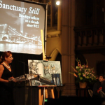 My speech about my 9/11 experience and the painting at the Sanctuary Still event on Sep. 11 2011.