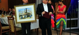 Kłodzko's Mayor Szpytma with his team led the auction