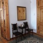 Restored doors and antique furniture