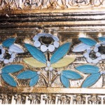 Detail of mirror decorations