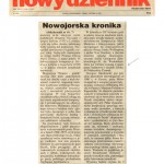 Karkowski, Czeslaw, Polish Daily News, New York Chronicle, October 1997